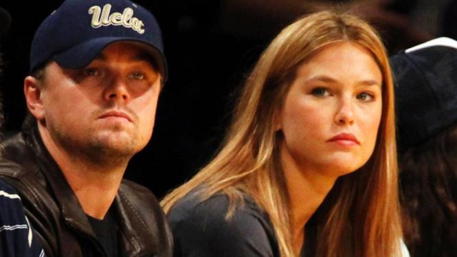 Magic - Lakers : Leonardo DiCaprio & Bar Refaeli