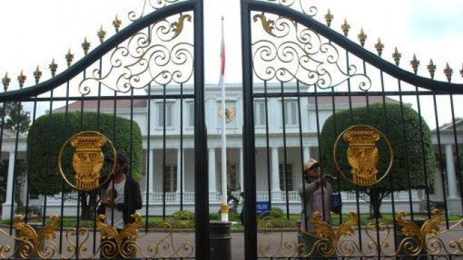 Gerbang Istana Kepresidenan.