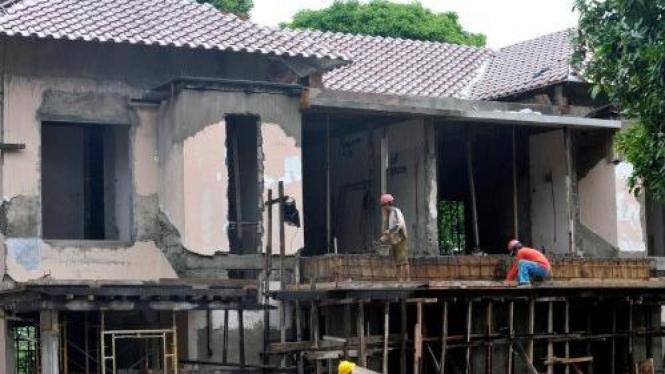 Renovasi rumah dinas anggota DPR di Kalibata