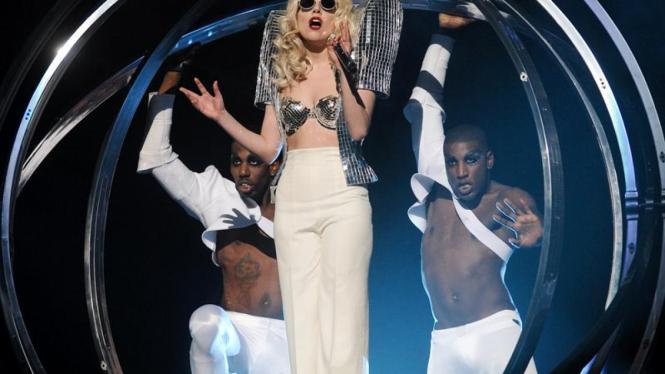 Konser Lady Gaga di New York
