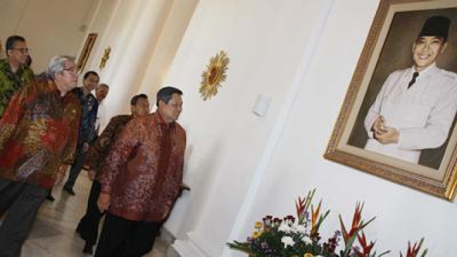 SBY dan pimpinan lembaga negara di Istana Bogor