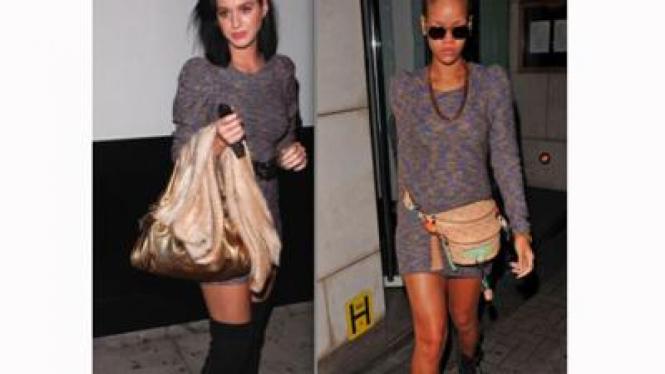 Katy Perry dan Rihanna