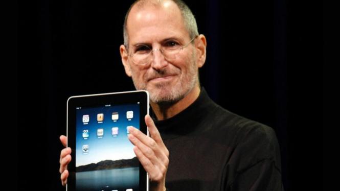 Steve Jobs Kenalkan iPad
