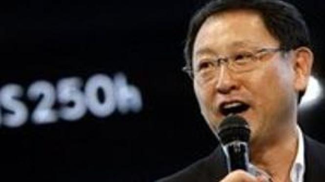 CEO Toyota Motor Corp. Akio Toyoda