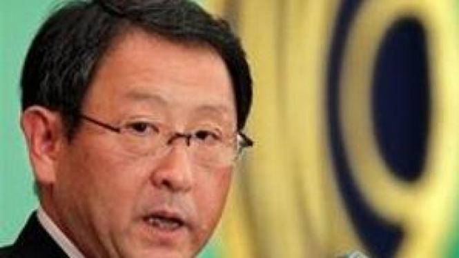 Akio Toyoda, CEO Toyota Motor Corp.