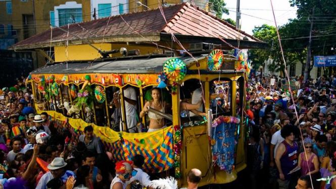 Karnaval di Brazil