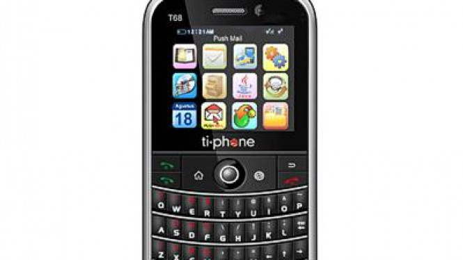 TiPhone T68, ponsel Qwerty GSM-CDMA