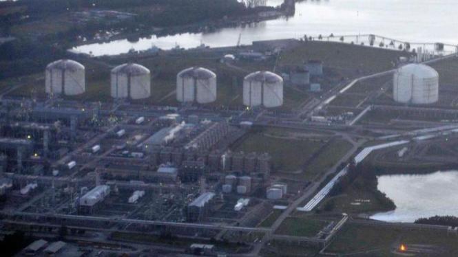 Produksi Gas PT.Badak