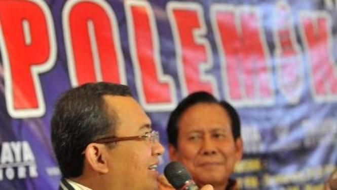 Priyo Budi Santoso (Golkar) dan Jafar Hafsah (Demokrat)
