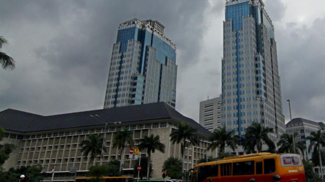 Gedung bank Indonesia