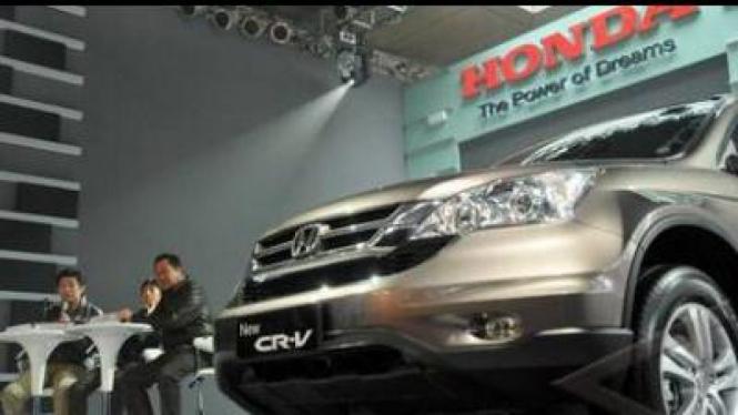 Honda New CR-V saat peluncuran di Jakarta
