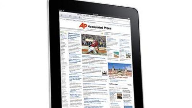 Associated Press di Apple iPad
