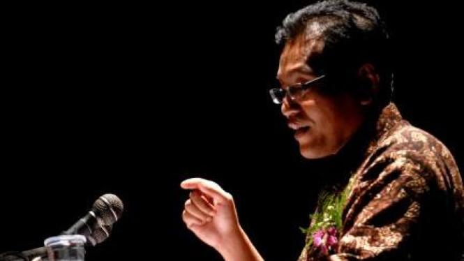 Ulil Abshar-Abdalla pidato kebudayaan di Graha Bakti Budaya TIM Jakarta
