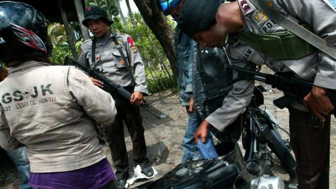 Pemeriksaan Teroris Di Aceh