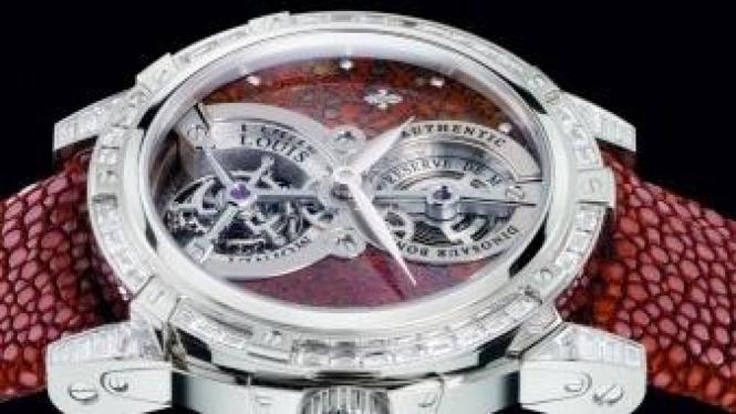 Jam tangan dari tulang dinosaurus
