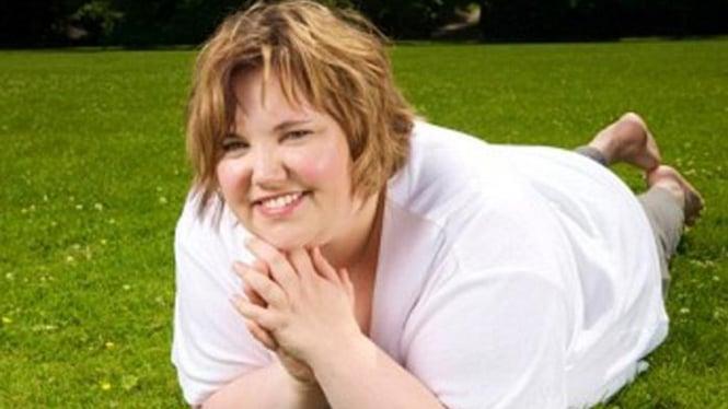 Wanita gemuk.