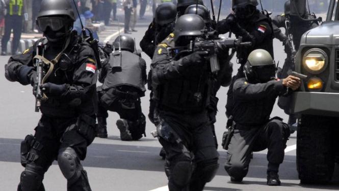 Latihan Anti Teroris