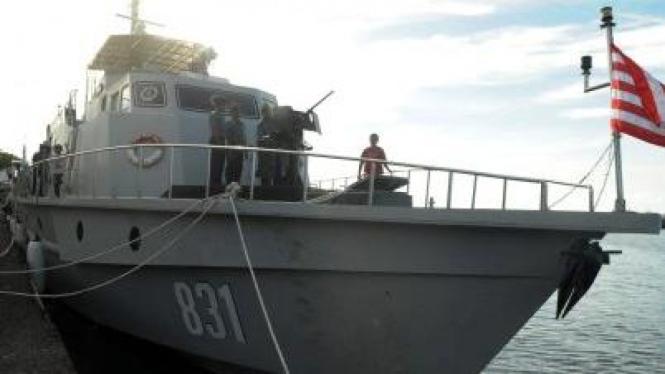 Kapal perang KRI Birang-831