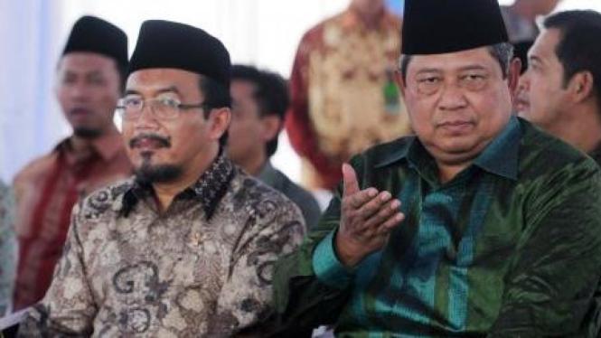 Susilo Bambang Yudhoyono (SBY) dan Suswono