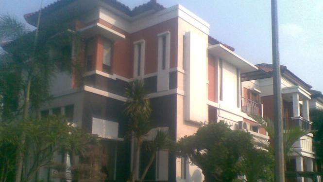 Rumah Gayus Tambunan, Kelapa Gading, Jakarta Utara