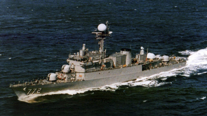 Kapal perang Korea Selatan