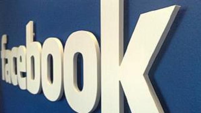 Logo di kantor Facebook
