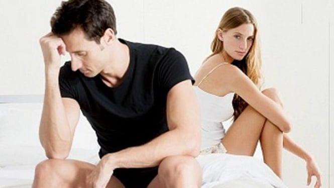 Ilustrasi pria dengan disfungsi ereksi