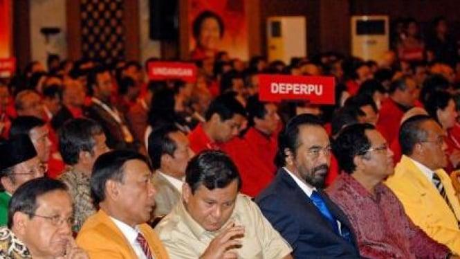 Akbar Tandjung, Wiranto, Prabowo, Surya, Rizal Ramli, Aburizal Bakrie