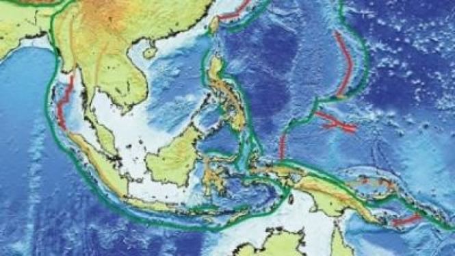 Kawasan rawan gempa Indonesia