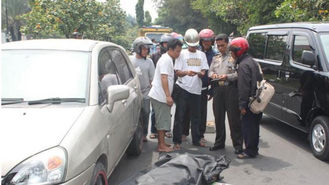 Kecelakaan di Sunter, 1 Orang Tewas.