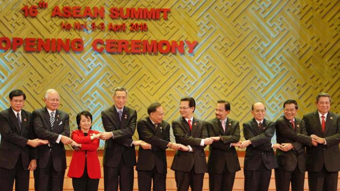 Pembukaan Konferensi Tingkat Tinggi (KTT) ke-16 ASEAN