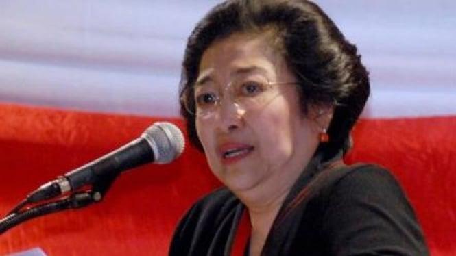 Megawati Soekarnoputri pidato