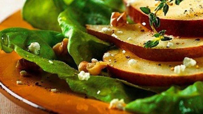 Salad sayur berpadu apel
