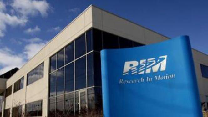 Kantor pusat RIM, produsen BlackBerry di Kanada