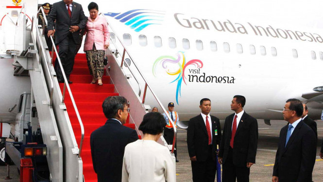 Presiden Tiba di Halim Perdanakusumah