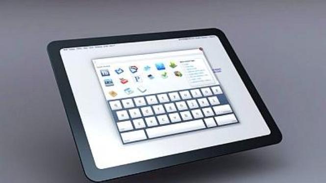 Ilustrasi Tablet PC