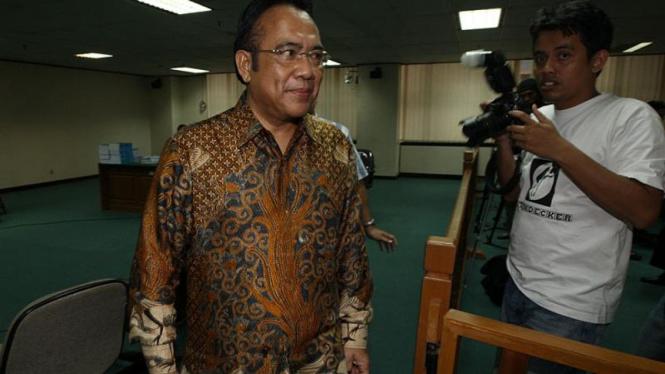 Suap Pemilihan Deputi Gubernur Senior BI: Paskah Suzetta