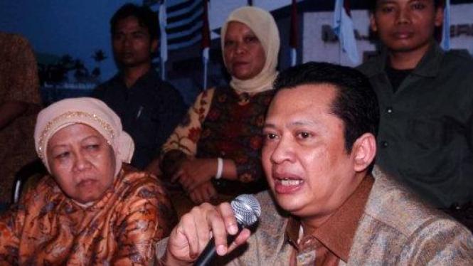 Bambang Soesatyo dan Lili Wahid