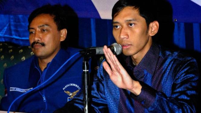 Andi Mallarangeng Silaturahmi ke Surabaya : Eddie Baskoro