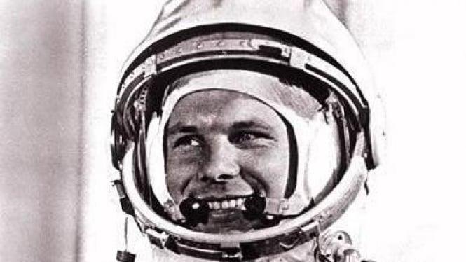 Yuri Gagarin, manusia pertama di luar angkasa