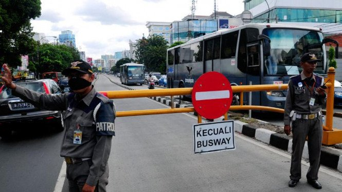Sterilisasi Jalur Busway