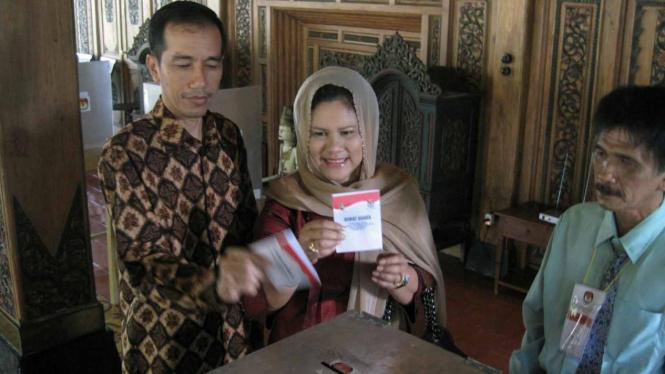 Joko Widodo calon walikota Solo yang diusung PDIP