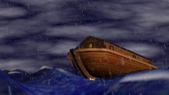 Ilustrasi perahu Nabi Nuh