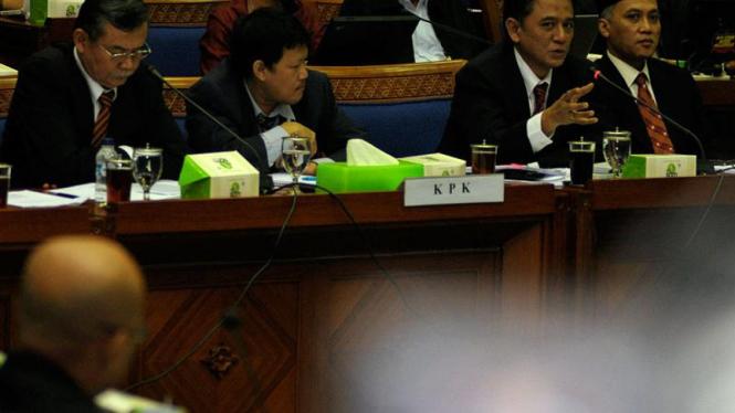 Rapat Dengar Pendapat KPK dengan Komisi III DPR