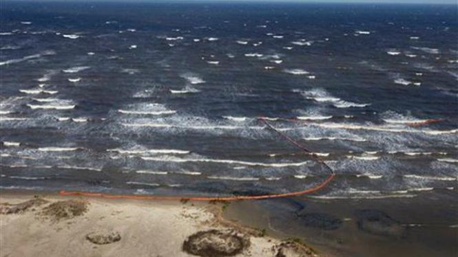 Tumpahan minyak mencemari laut di pesisir tenggara AS