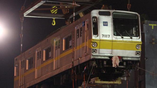 Kereta Api Listrik (KRL) eks Jepang pesanan PT KAI