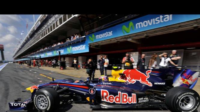Sesi Latihan F1 Grand Prix Spanyol : Mark Webber