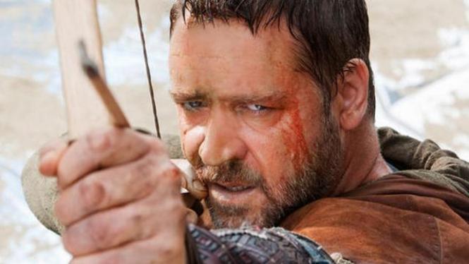 Aksi Russell Crowe dalam Film Robin Hood