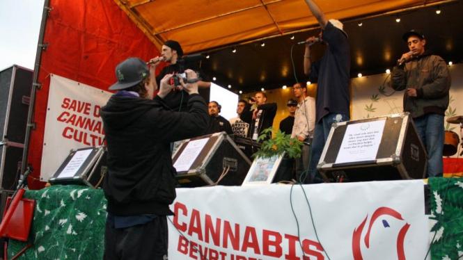 Hari Pembebasan Ganja di Belanda