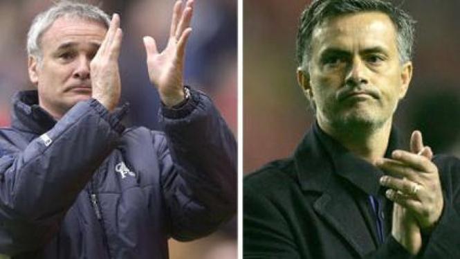Claudio Ranieri & Jose Mourinho